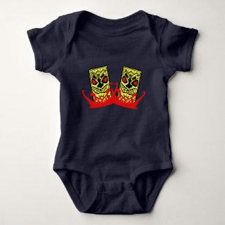 赤ん坊のジャージーのボディスーツTikiの相棒 ベビーボディスーツ