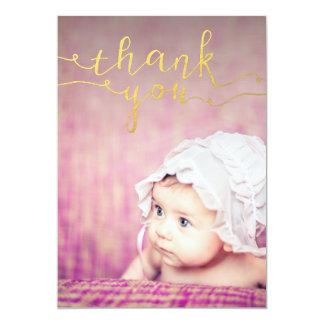 赤ん坊の一口は及び誕生の発表感謝していすために見ます カード