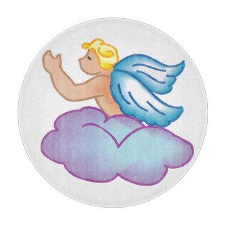 赤ん坊の天使のまな板 カッティングボード