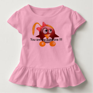 赤ん坊の日光の服 トドラーTシャツ