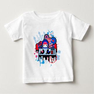 赤ん坊の素晴らしいジャージーのTシャツ ベビーTシャツ