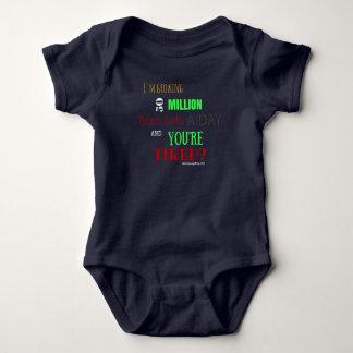 赤ん坊の脳細胞 ベビーボディスーツ