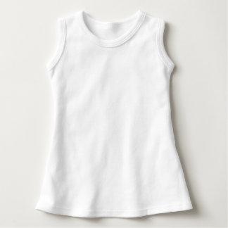 赤ん坊の袖なしの服 ドレス