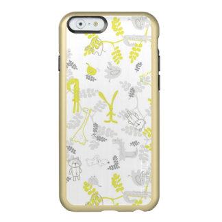 赤ん坊動物2を表示するパターン INCIPIO FEATHER SHINE iPhone 6ケース