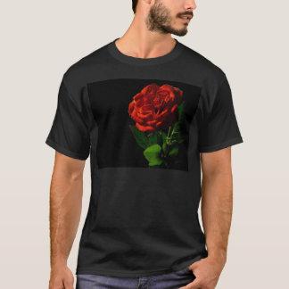 赤バラマクロまだイメージスタジオ写真 Tシャツ