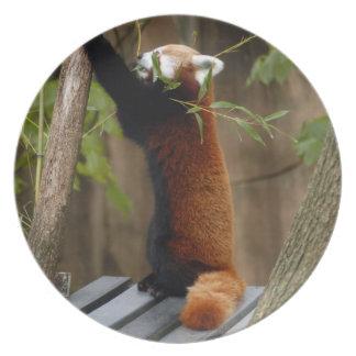 赤パンダ012 プレート