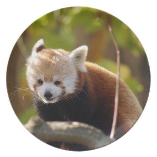 赤パンダ022 プレート