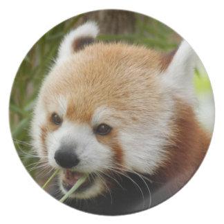 赤パンダ032 プレート