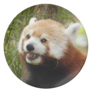赤パンダ033 プレート