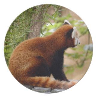 赤パンダ036 プレート