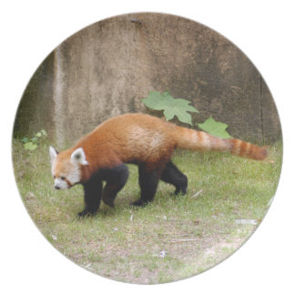 赤パンダ042 プレート