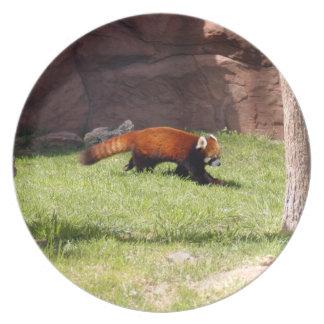 赤パンダ044 プレート