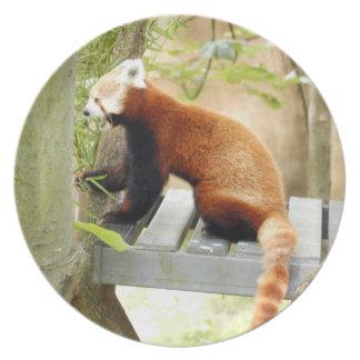 赤パンダ051 プレート