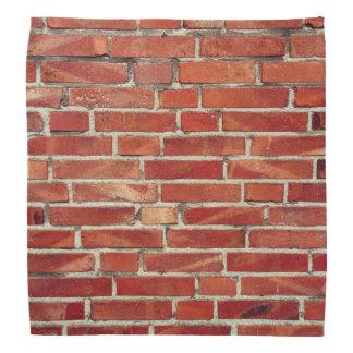 赤レンガの壁の質 バンダナ