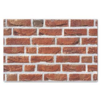 赤レンガの壁の質 薄葉紙