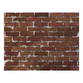 赤レンガの壁 チラシ