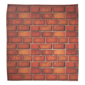 赤レンガの壁 バンダナ