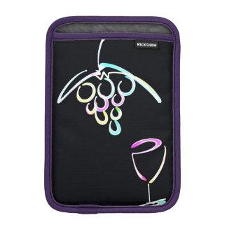 赤ワインおよびiPad iPad Miniスリーブ