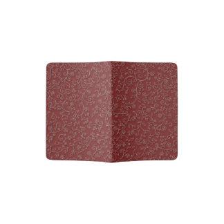 赤ワインのキヅタ パスポートカバー