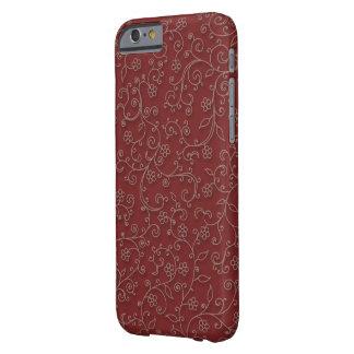 赤ワインのキヅタ BARELY THERE iPhone 6 ケース