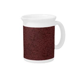 赤ワインのコルクの一見木穀物 ピッチャー