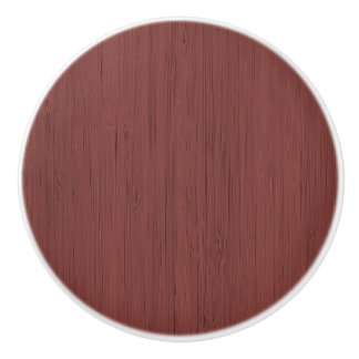 赤ワインのタケ木製の穀物の一見 セラミックノブ