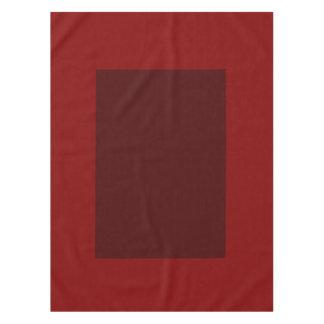 赤ワインのブロックの無地の綿のテーブルクロスだけ テーブルクロス