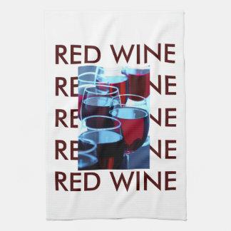 赤ワインの写真 キッチンタオル