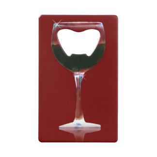 赤ワインの栓抜き クレジットカード栓抜き