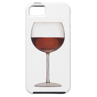 赤ワインの芸術のゴブレット- iPhone 5の場合 iPhone 5 カバー