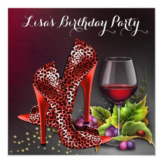 赤ワインの誕生会 カード