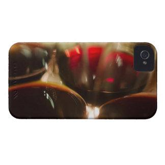 赤ワインガラスのクローズアップの眺め Case-Mate iPhone 4 ケース