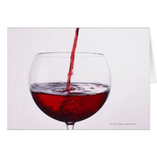 赤ワイン カード