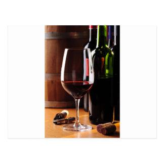 赤ワイン ポストカード