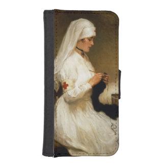 赤十字からのナースのポートレート iPhoneSE/5/5sウォレットケース