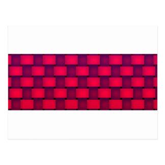 赤味がかった壁- ポストカード