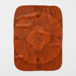 赤味がかった着色された木製パターン バープクロス