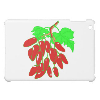 赤唐辛子の束 iPad MINI カバー