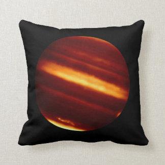 赤外線ライトの惑星ジュピター クッション