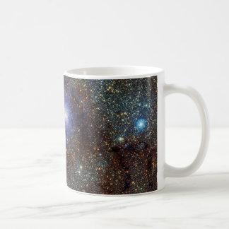 赤外線眺めの礁湖の星雲よりきたない8 M8 NGC 6523 コーヒーマグカップ