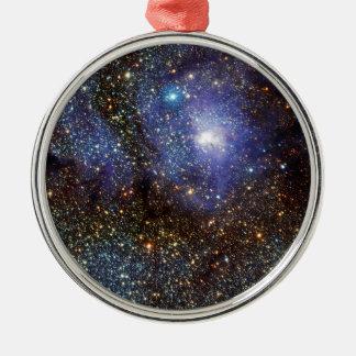 赤外線眺めの礁湖の星雲よりきたない8 M8 NGC 6523 メタルオーナメント