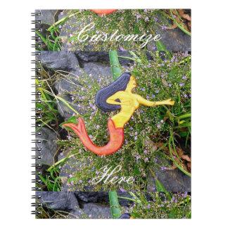 赤後につかれたsirenaの人魚 ノートブック