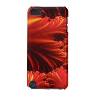 赤抽象的なパターン場合 iPod TOUCH 5G ケース