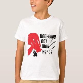 赤毛のない弾頭 Tシャツ