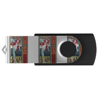 赤毛のコニーアイランドの人魚 USBフラッシュドライブ