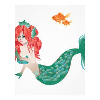 赤毛の人魚2 レターヘッド