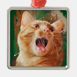 赤毛の子ネコ メタルオーナメント