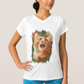 赤毛の子ネコ Tシャツ
