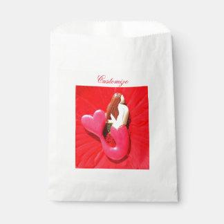 赤毛の眺望の人魚 フェイバーバッグ