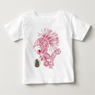 赤無慈悲 ベビーTシャツ